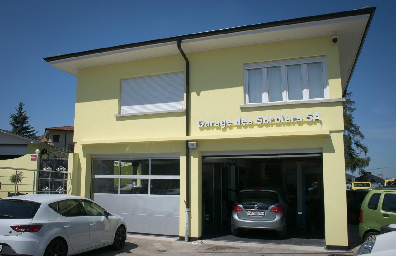 Arriere Garage des Sorbiers